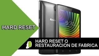 Lenovo A2010 Hard Reset O Restauracion de Fabrica  ( Quitar Patron O Contraseña )