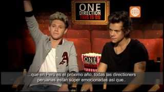 Cinescape: Entrevista One Direction: Harry Styles y Niall Horan - 07/09/2013