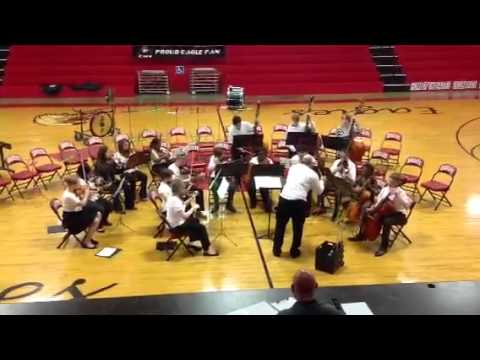 Pineville Junior High School Orchestra in Hot Springs