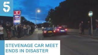 17 people injured in Stevenage car-meet accident   5 News