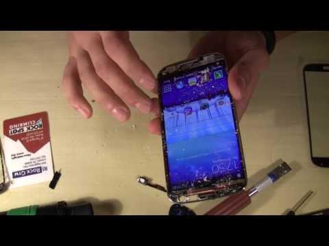 Замена экранного модуля самсунг галакси с4 своими руками
