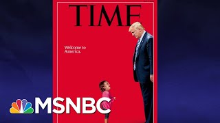 The Little Girls Blocking President Donald Trump | The Last Word | MSNBC