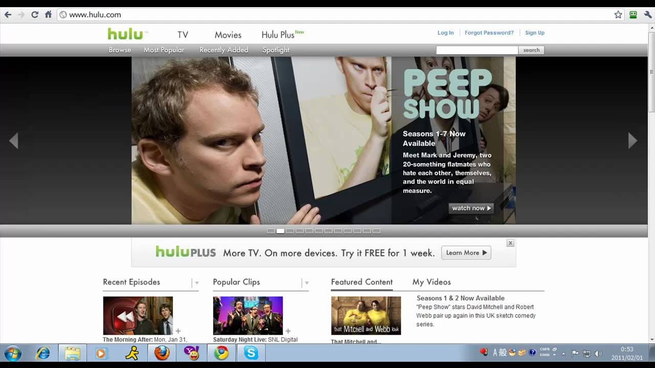How to Watch Hulu.com Outside of the US - YouTube