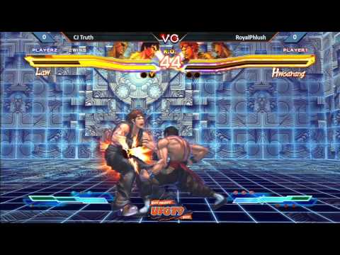 UFGT9  CJ Truth Vs RoyalPhlush - Street fighter Cross Tekken Pools