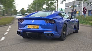 Supercars Leaving Car Meet LOUD!! Centenario, 812 Superfast, Murcielago & MORE!