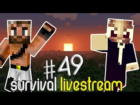Minecraft Survival #49 - KNOLPOWER TEXTURE PACK! (Livestream)