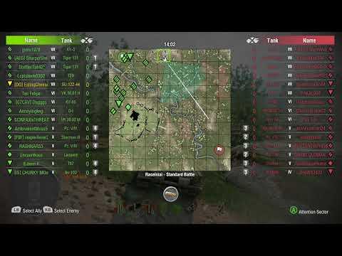 World of Tanks Xbox one SU-122-44 1 Kill
