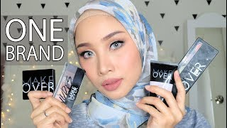 Download video ONE BRAND MAKE UP TUTORIAL - MAKE OVER + REVIEW | IRNA DEWI