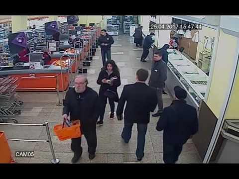 Ограбление ювелирного, прямо за спиной охранников. Жесть по-Харьковски.
