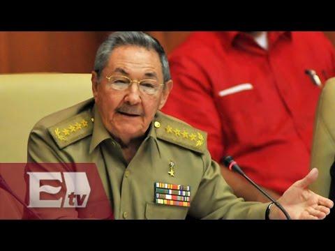 Raúl Castro confirma normalización de relaciones entre Cuba y EU