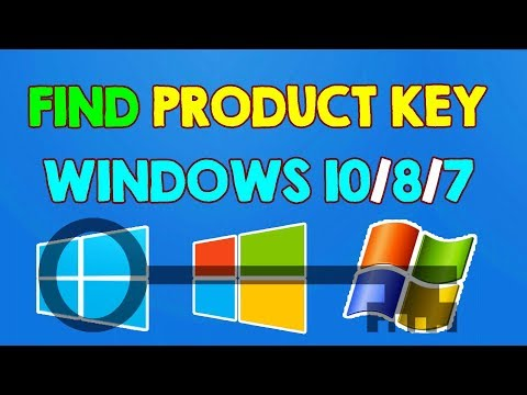 How to Find Windows 10 Windows 8 Windows 7 Product Key for FREE without Using Any Software 2017