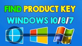 How to Find Windows 10 Windows 8 Windows 7 Product Key for FREE without Using Any Software 2016