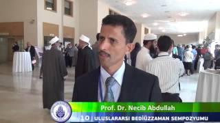 10 Uluslararası Bediüzzaman Sempozyumu   Prof  Dr  Necib Abdullah İİKV Media