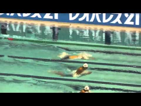 JAPAN SWIM 2012 200mBreast stroke heat -OBAYASHI