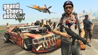 ZOMBIES APOCALYPSE BATTLE VEHICLE!! (GTA 5 Mods)