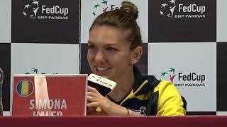 Simona Halep - Victorija Golubvic cu 6-3, 1-6, 6-1