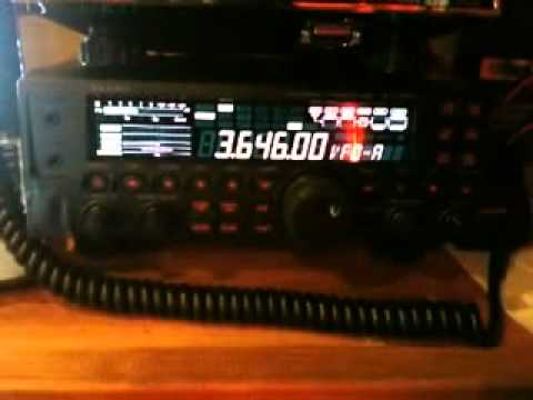 RadioAmateur - QSO du matin en LSB - Yaesu FT 450-AT.mp4