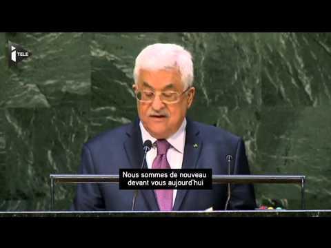 M.Abbas accuse Israël d'avoir commis une