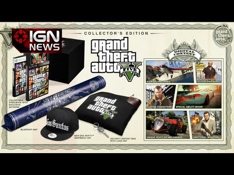 IGN News - Grand Theft Auto V Special Editions Unveiled