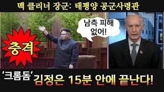 충격! 미태평양 총사령관, 김정은 15분이면 끝난다!
