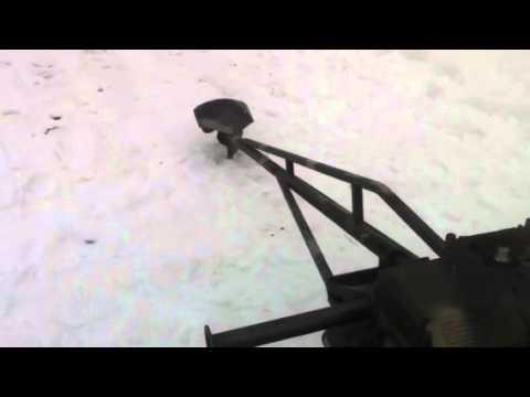 Home-made mud motor test. 2/26/2011