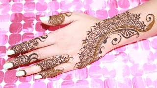 Unique Henna/Mehndi Tutorial: Using Filler Designs