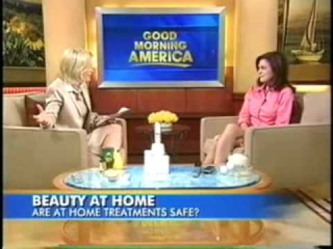 Diane Sawyer with Dr. Day - Effectiveness of At Home Treatments (Acne, Wrinkles, Eyelash Growth)