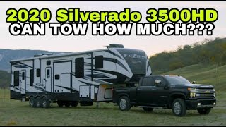 2020 Chevy Silverado TOWING KING! Higher than most thought!