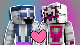 Minecraft Fnaf: Sister Location - Ballora and Funtime Foxy Go On A Date (Minecraft Roleplay)
