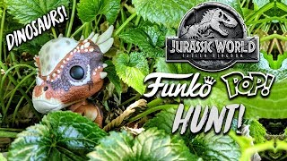 Jurassic World Funko Pop Hunt (Hunting Down Dinosaurs!)