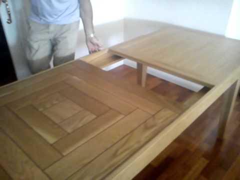 Rekalde mesa extensible youtube - Como hacer una mesa extensible ...