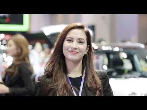 Highlight Cute Sales   35th Bangkok Motor Show 2014 [HD]