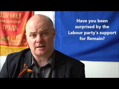 Steve Hedley (RMT) on support from unions and Remains dodgy funders
