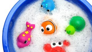 Learn Colors with Animals and Foam Zoo Farm Surprise Toys for Kids Toddlers
