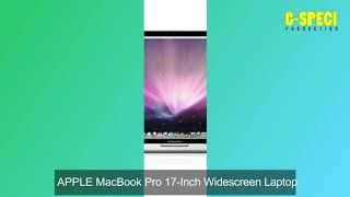 APPLE MacBook Pro 17-Inch Widescreen Laptop