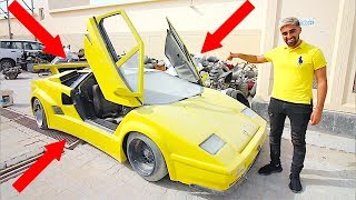 I Bought the Cheapest Lamborghini in Dubai !!!