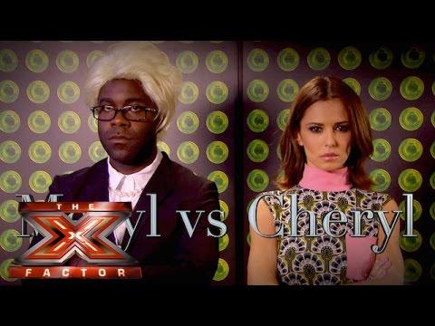 Cheryl Vs Meryl | The Xtra Factor UK 2015