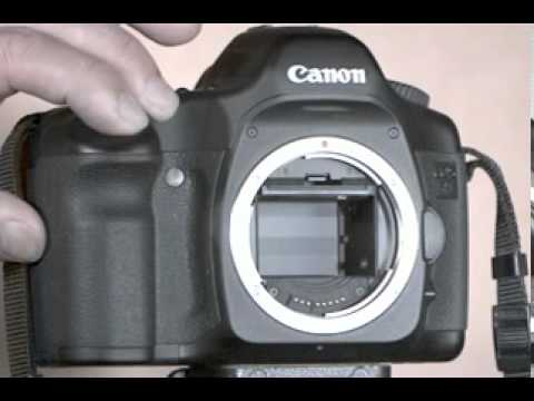Canon 5D Shutter in Slow Motion