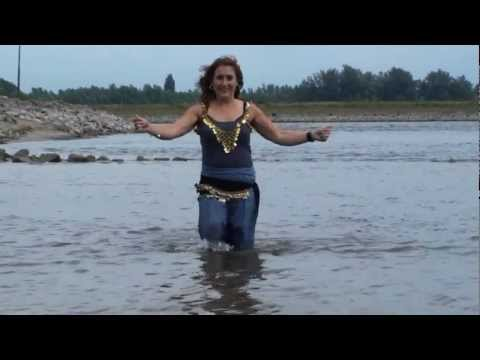 Balkan Biljana dancing in water