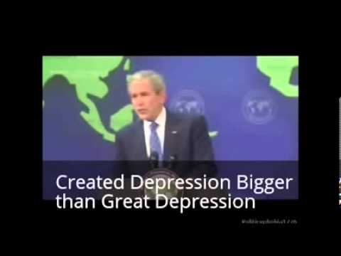 President Bush: Bush Tax Cuts Destroyed US Economy