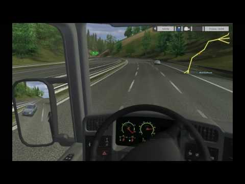 Euro Truck Simulator Test Drive (Plus Refuel)