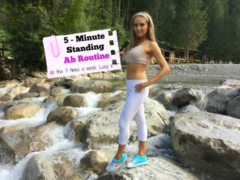 5 - Minute Standing Ab Workout