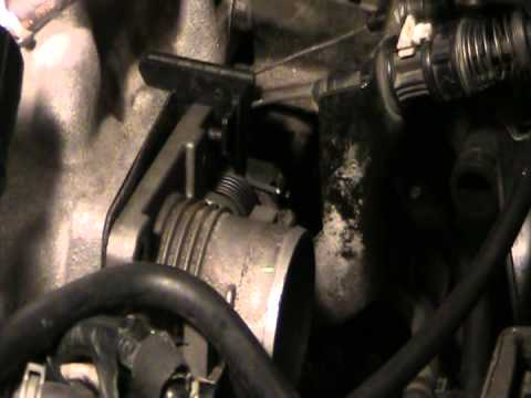 Mazda MPV throttle body cleaning