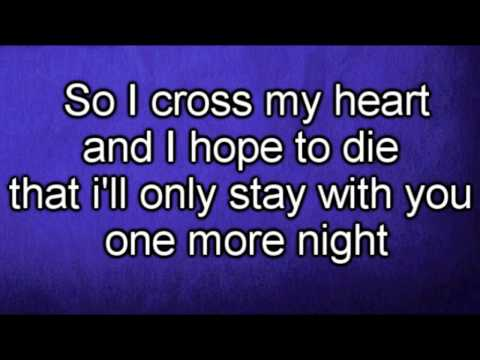Maroon 5 - One More Night (Lyrics) {HD}