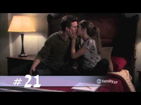 The Secret Life of the American Teenager - All the Ricky/Amy Kisses (S1-4.5)