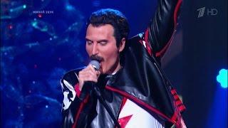 Ксана Сергиенко. Freddie Mercury – «The Show Must Go On». Точь‑в‑точь. Фрагмент от 01.01.2016