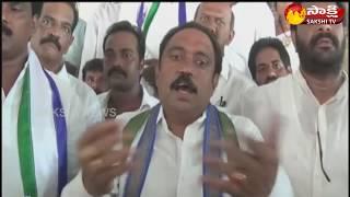 YSRCP Leader Gunam Nagababu participates in sangibava yatra in Palakollu