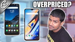 OnePlus 6T Overpriced??? Xiaomi Poco F1 vs Oneplus 6T Comparison!