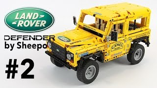 Body / Кузов Land Rover Defender. Episode 2