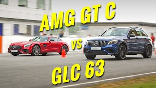 Mercedes-AMG GTC vs GLC63: Can I beat the VP of Mercedes-Benz Malaysia in a drag race? - AutoBuzz.my